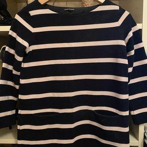 Club Monaco Striped Box Sweater